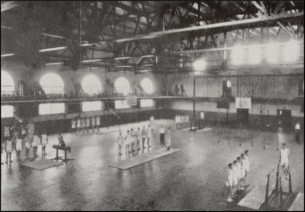 Thompson Gymnasium Indoor Activity Area