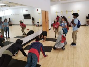 TRIO students visit HES